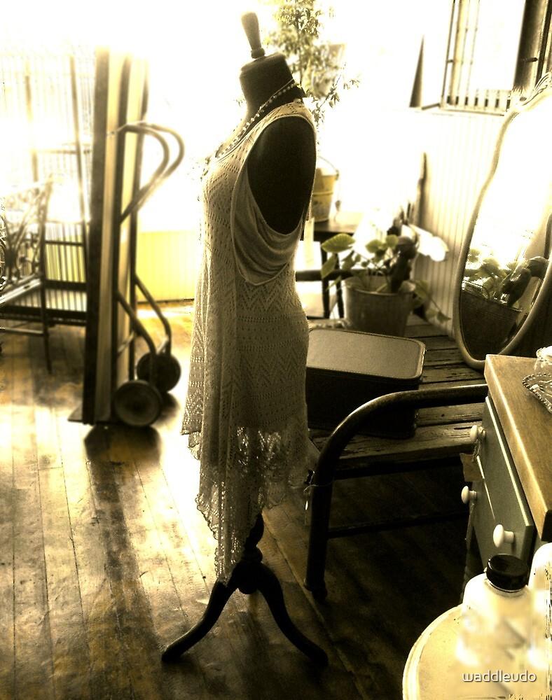 A Flapper (On a Dressmaker's Form) (c) 2013 by waddleudo
