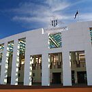 Parliament House, Canberra by NinaJoan