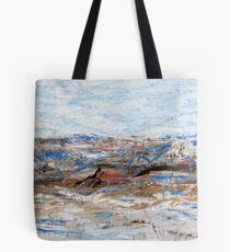Expressions in Blue - Painting Tote Bag