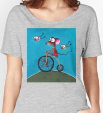 The Yellow Bike Women's Relaxed Fit T-Shirt