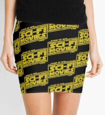 Sci-fi Movie Tee Mini Skirt