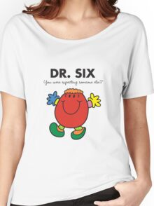 Dr Six Women's Relaxed Fit T-Shirt