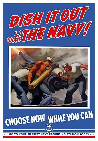 Dish It Out With The Navy -- WW2 by warishellstore