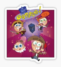 Fairly Odd Parents Who? Sticker