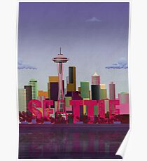 Póster Seattle