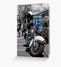 Police Greeting Card