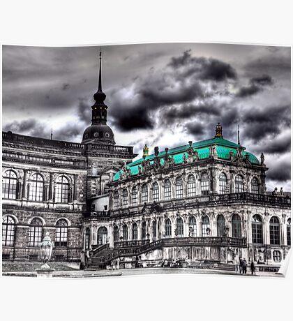 Dresdener Zwinger Poster