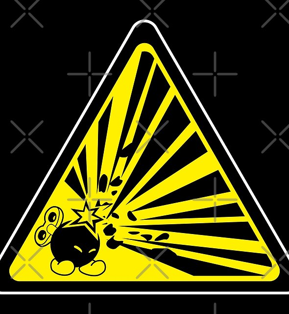 CAUTION: Risk of Explosion by D4N13L