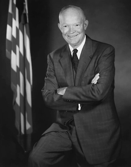 President Eisenhower by warishellstore