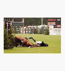 When good jumps go BAD! 6/8 Photographic Print