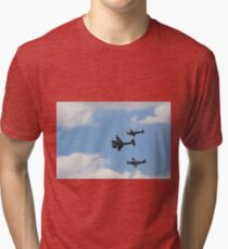 Mosquito, Mustang, and Spitfire Tri-blend T-Shirt
