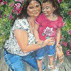 Las Brissas-Madre y Hija by Jennifer Ingram