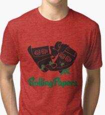 Rolling Papers Tri-blend T-Shirt