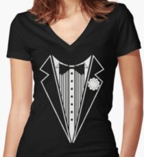 FORMAL Women's Fitted V-Neck T-Shirt