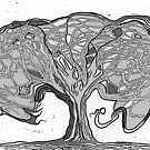 The Unmanageable Tree by synchronicart