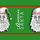 The American Santa - Santa Fred MUG by Dave-id