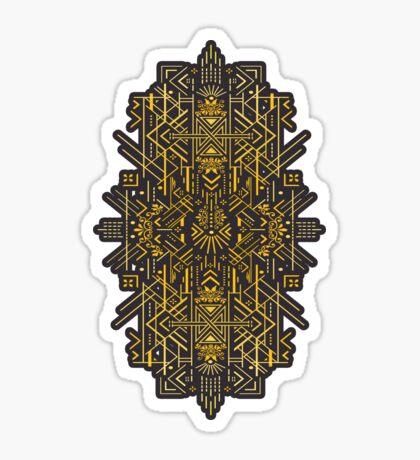 Life is Golden Sticker