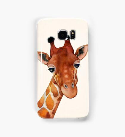 Giraffe Watercolor Samsung Galaxy Case/Skin