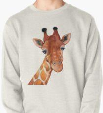 Giraffe Watercolor Pullover