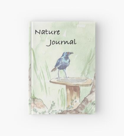Cape Glossy Starling (Lamprotornis nitens) Hardcover Journal