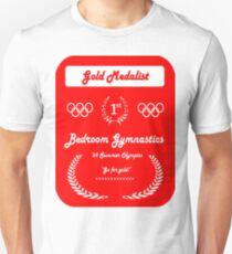 Bedroom Gymnastics Unisex T-Shirt