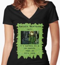 And the alternative is? Women's Fitted V-Neck T-Shirt