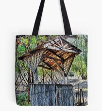 royal mail hotel well Tote Bag