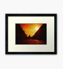 Red Vaticano - Lomo Framed Print