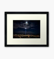 Spectra, Hobart, Tasmania Framed Print