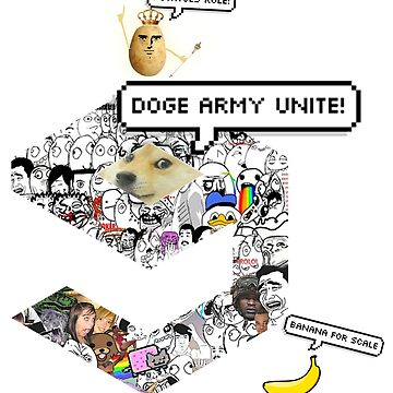 ULTIMATE 9GAGGER meme and signature banana and potato by romanmtz