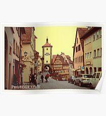 Rothenburg. Poster