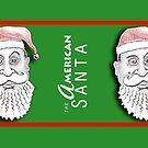 The American Santa - Santa Kyle MUG by Dave-id
