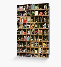Memory box  Greeting Card