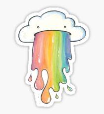 Cloud Vomit Sticker