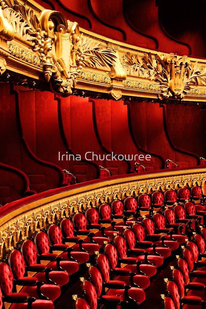 L'Opéra, Paris by Irina Chuckowree