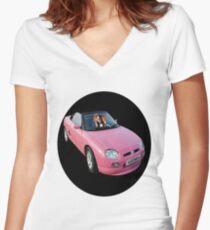 ❤‿❤ GIZMO DRIVES TEE SHIRT ❤‿❤ Women's Fitted V-Neck T-Shirt