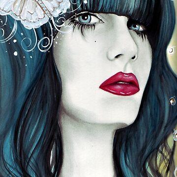 Butterfly Lady by LetyLeru