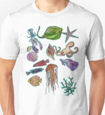 under the sea (for lucy) Unisex T-Shirt