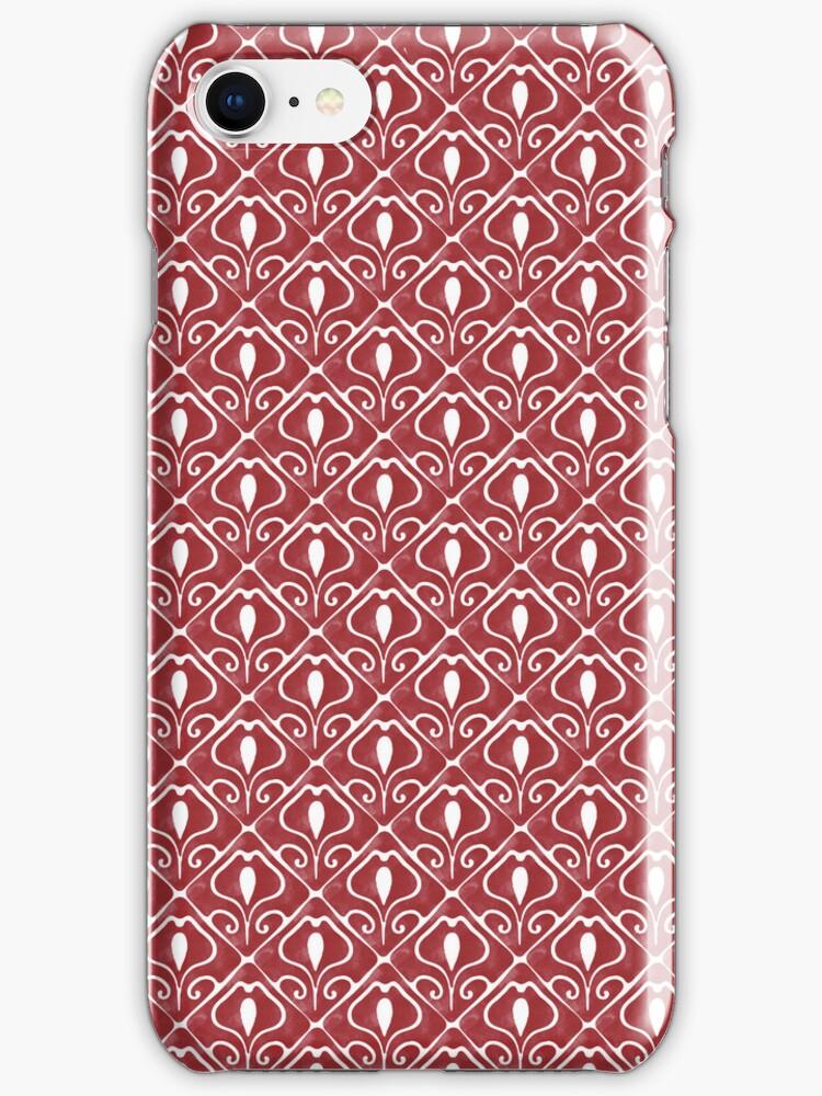 L'Art Nouveau Iphone Case by lunaprincipe
