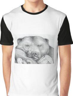 Lazy Bear Graphic T-Shirt