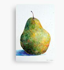 Descriptive Fruit Canvas Print