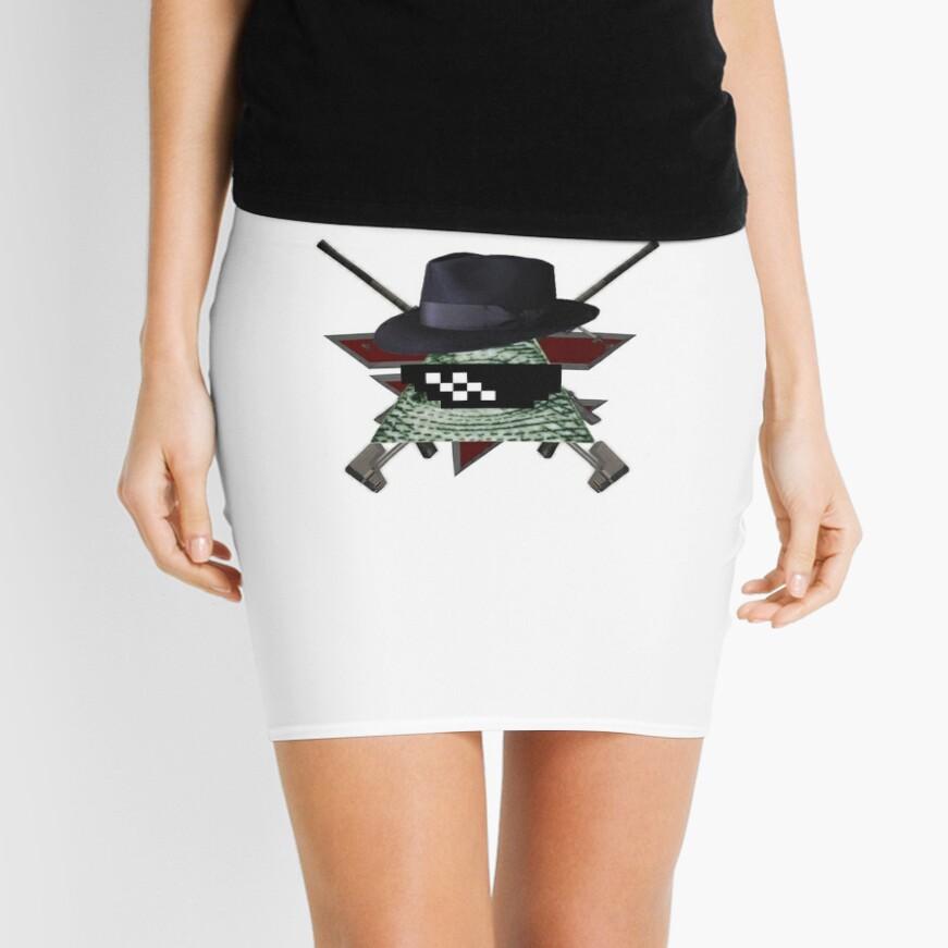 MLG Illuminati Minifalda