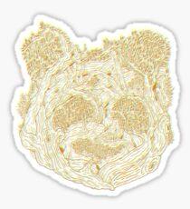 Forest Panda Tee Sticker
