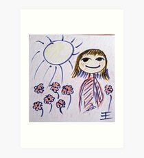 Dont worry be happy Art Print