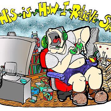Gamer Stress by Skree