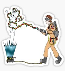 Casper meets The Ghostbusters Sticker