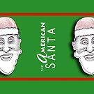 The American Santa - Santa Leon MUG by Dave-id