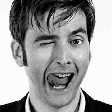 David Tennant being his usual amazing self by blueflamingo