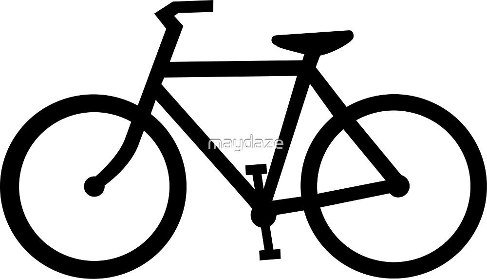 bike silhouette by maydaze