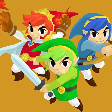 Triforce Heroes by icr427